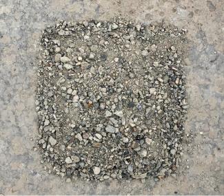 Breekzand beton