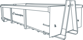 Container - Gemengd afval  - 12