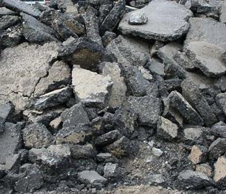 Zuiver asfaltpuin