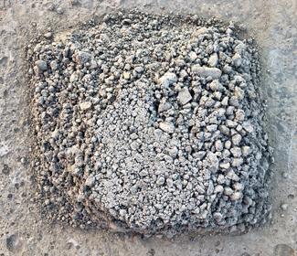 Schraal of magere beton
